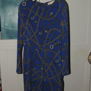 Michael Kors chains dress size medium
